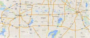 Arlington Service Map