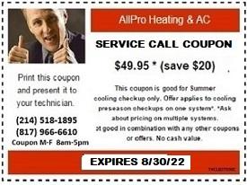 SERVICE CALL DISCOUNT COUPON